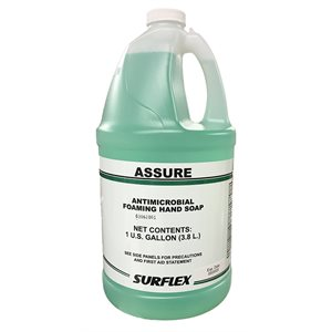 ASSURE ANTIMICROBIAL FOAMING HAND SOAP